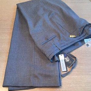 New/with Tags Talbots Heritage Grey Wool Slacks